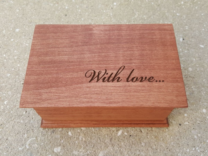 With Love Customized Musical Jewelry Box